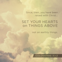 Set Your Heart On Things Above - WOD